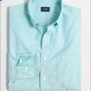 Brand New J. Crew Men's Button Down Dress Shirt